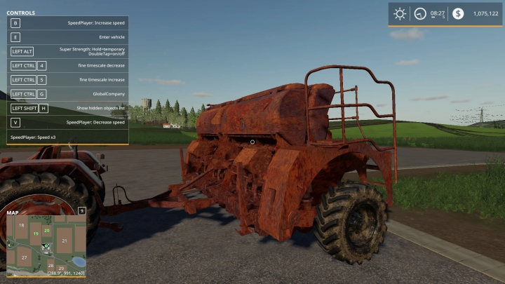 Rusted Seed Drill v1.0.0.0 category: Seeder