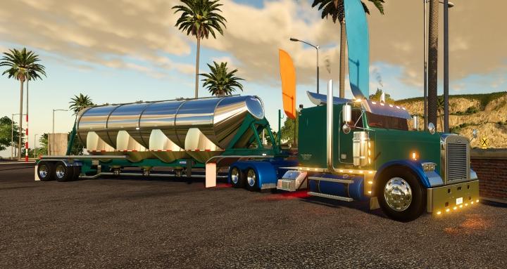 Trending mods today: Freightliner Classic FLD 120 Flat Top