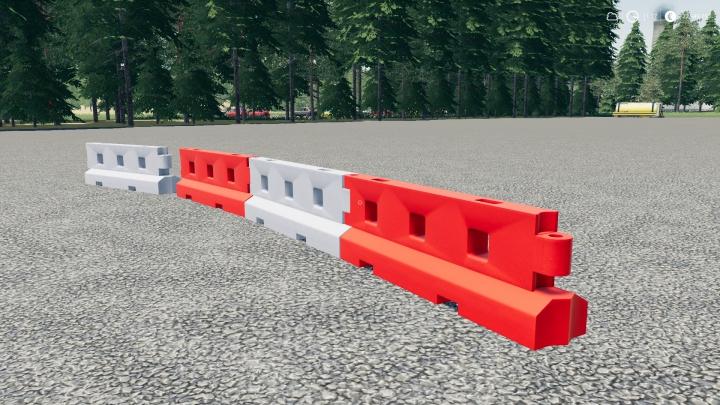Trending mods today: Plastic Road Barrier V3