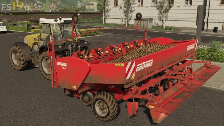 GRIMME GL 660 V 1.1 category: Seeder