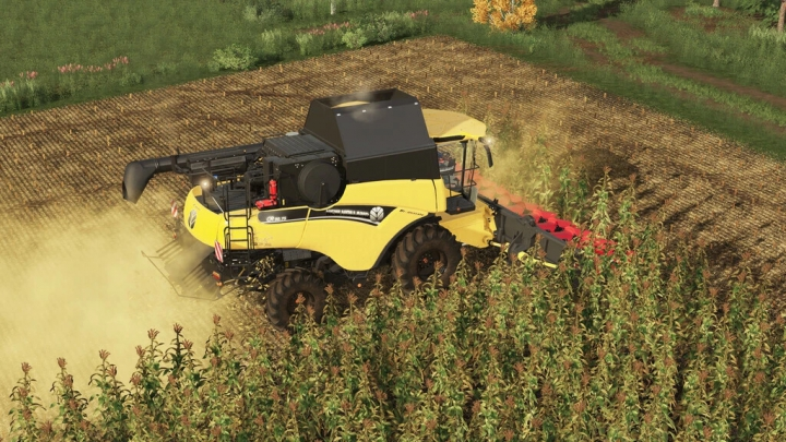 New Holland CR9.90 v1.1.0.0 category: Combines