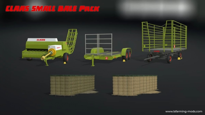 Trending mods today: Claas Small Bale Pack v1.0.0.0