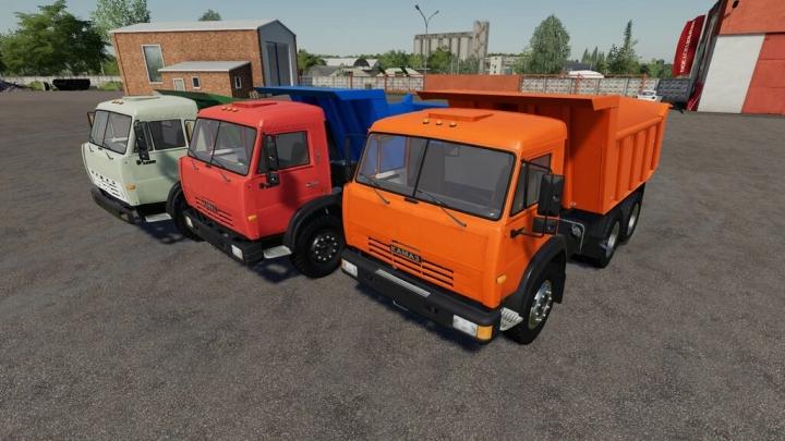 KamAZ Dump Truck v1.0.0.0 category: Trucks