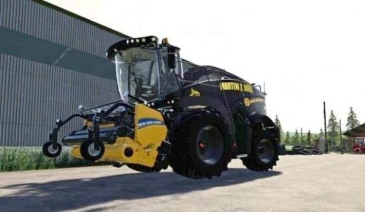 New Holland FR 920 LimitedEdition Martin Zbo?il v1.0 category: Combines