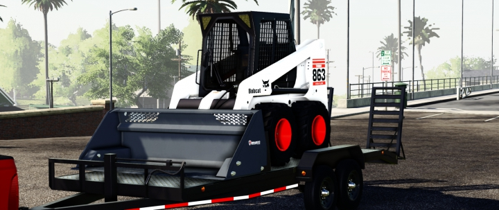Load Trail Bumper Pull  category: Trailers