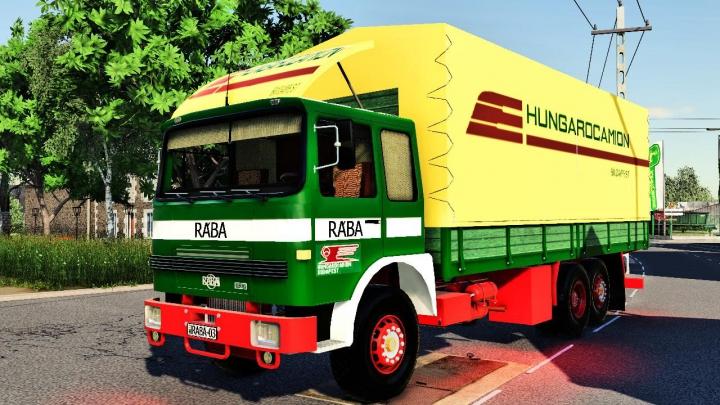 RABA 833 category: Trucks
