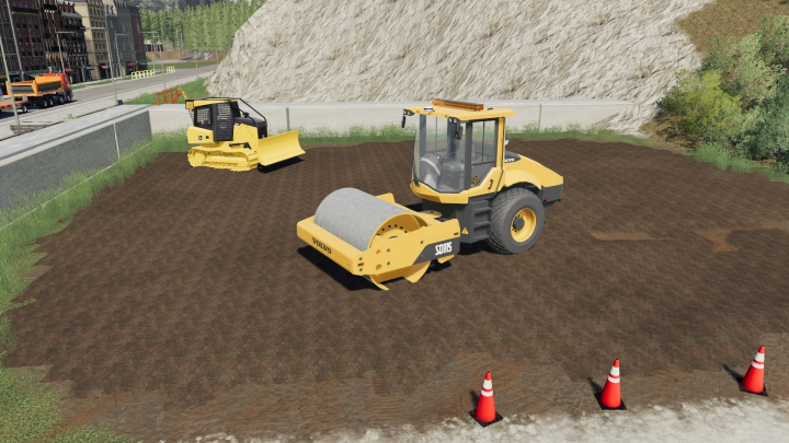 Volvo SD-115 Road Compactor category: Other