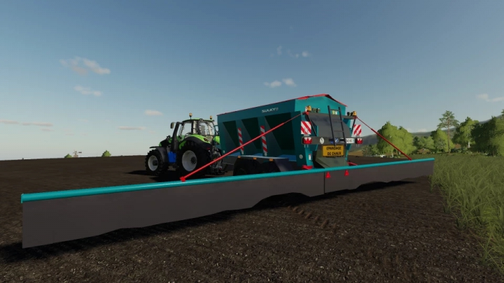 SULKY LIME SPREADER 1.1.0.0 category: Trailers