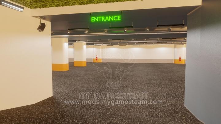Trending mods today: Underground Parking