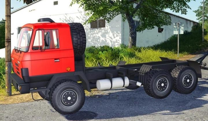 Trending mods today: Tatra 815 red v1.0.0.0