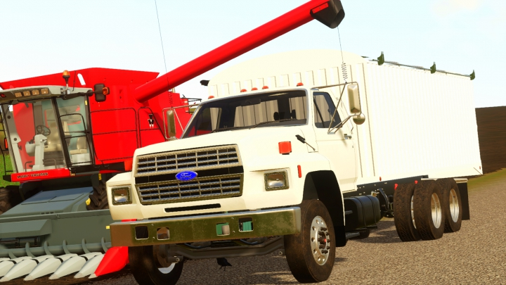 Trending mods today: Ford F800