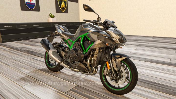 Trending mods today: Kawasaki ZH2 2020