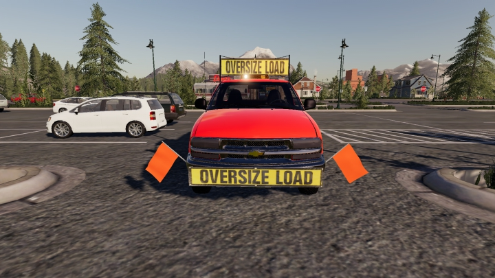 Trending mods today: Chevy S10 Oversize Load/Pilot Car