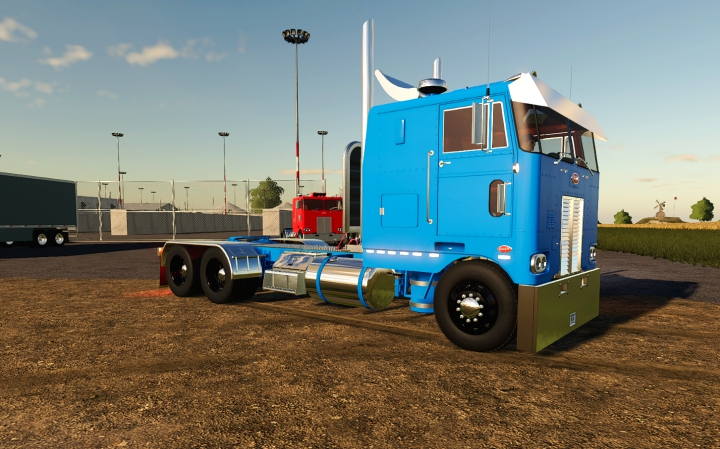 Peterbilt 352 Cabover category: Trucks