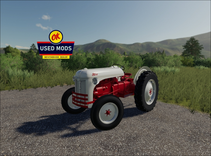 FORD 8N - Not Historically accurate By OKUSEDMODS category: Tractors