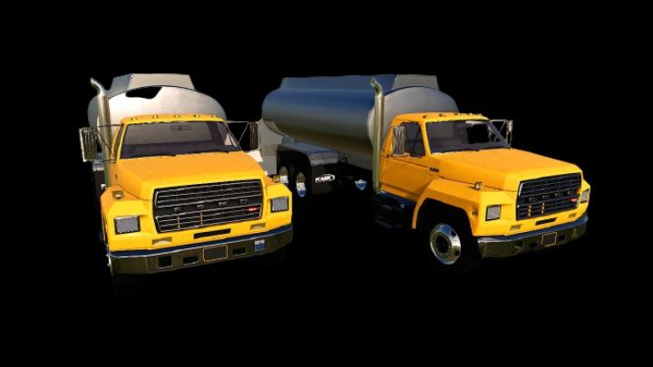 Ford F800 fuel truck category: Trucks