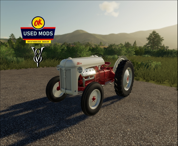 FORD 8N V8 Flathead - Awesome Henry By: OKUSEDMODS category: Tractors