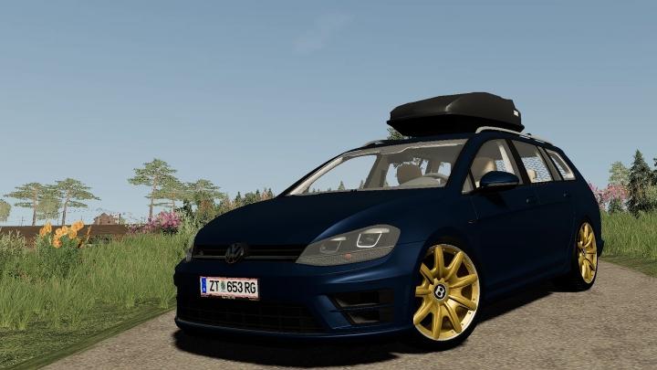 Cars VW Golf R Variant Edit v1.0.0.0