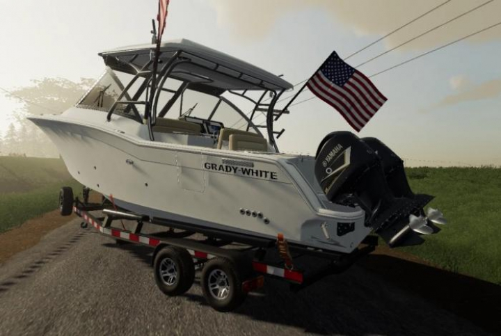 Trending mods today: 27FT Grady White Boat and Trailer