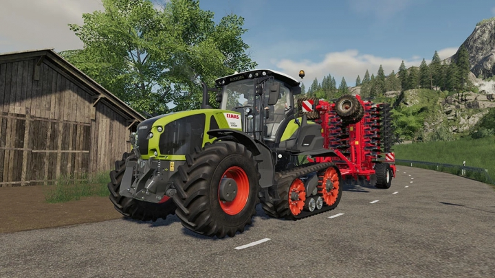 Trending mods today: Claas Axion 900 Terra Trac v1.1.1.0