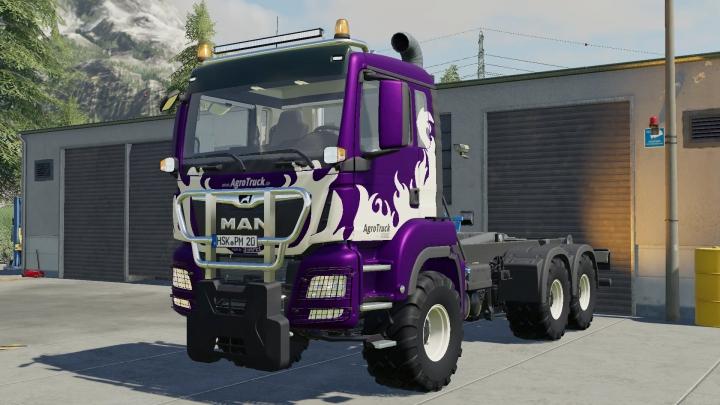 Tractors MAN TGS26500 Edit v1.0.0.0