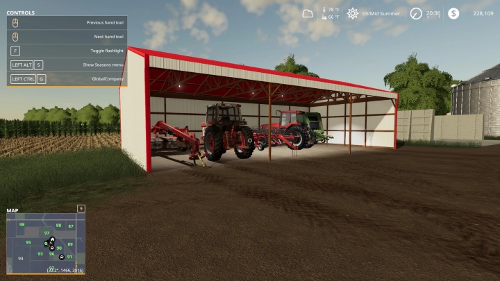 Trending mods today: Open Face Shed v1.0.0.0