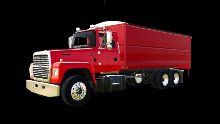 Trending mods today: Ford L8000 flatbed/AR truck