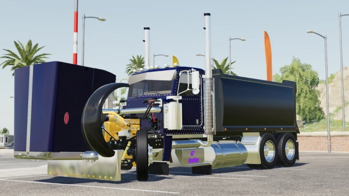 Best mods from the day: Rogue 389 Transfer Truck v1.0.0.3.